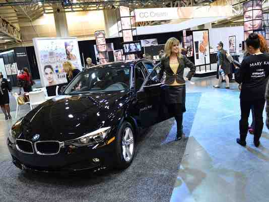 Mary Kay Adds BMW 320i to Incentive Car Program